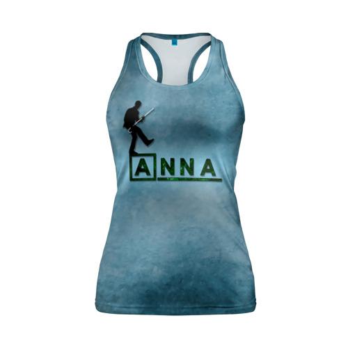 Женская майка 3D спортивная Анна в стиле Доктор Хаус