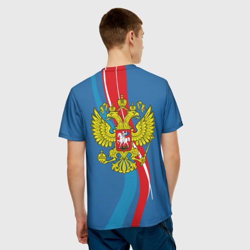 Мужская футболка 3D 'Герб Анатолий'