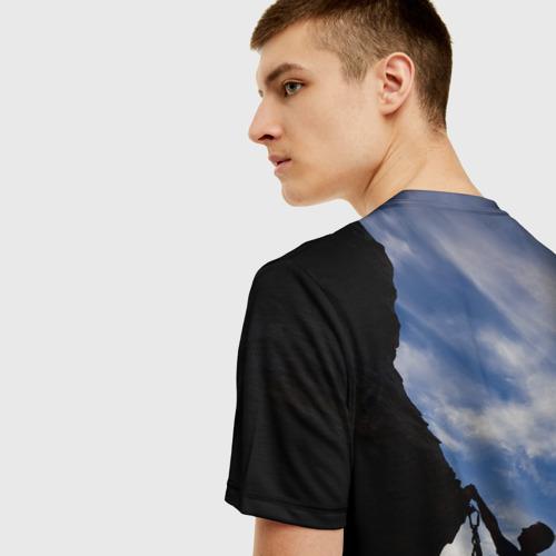 Мужская футболка 3D climbing Фото 01
