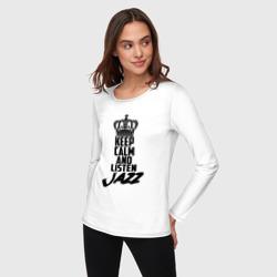 Keep calm and listen Jazz