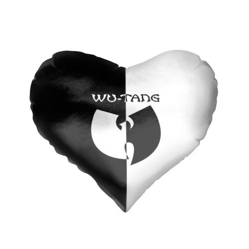 Подушка 3D сердце  Фото 01, Wu-Tang Clan