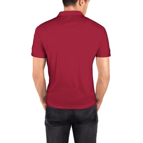 Мужская рубашка поло 3D  Фото 04, I Love you