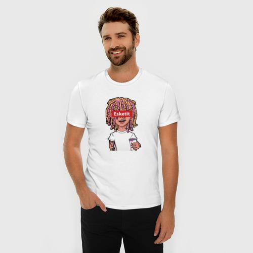 Мужская футболка премиум Lil Pump Фото 01