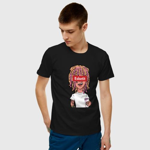 Мужская футболка хлопок Lil Pump Фото 01