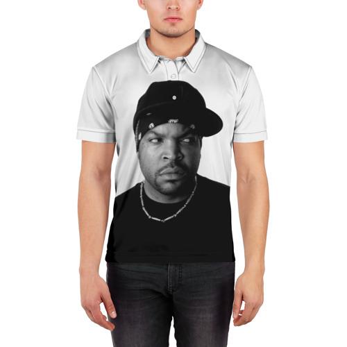 Мужская рубашка поло 3D  Фото 03, Ice Cube