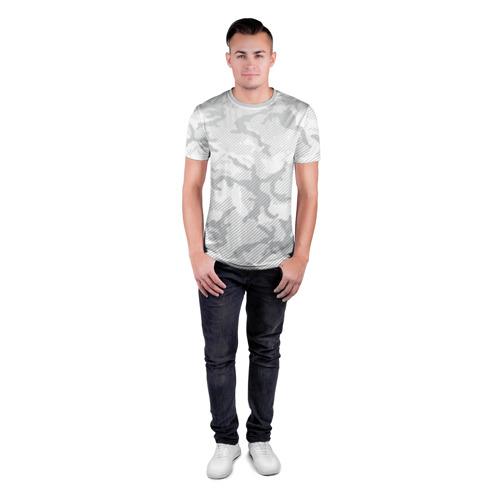 Мужская футболка 3D спортивная  Фото 04, Lite Camouflage Lines