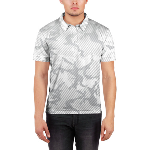Мужская рубашка поло 3D  Фото 03, Lite Camouflage Lines