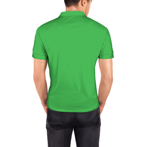 Мужская рубашка поло 3D  Фото 04, Ешь грязь!