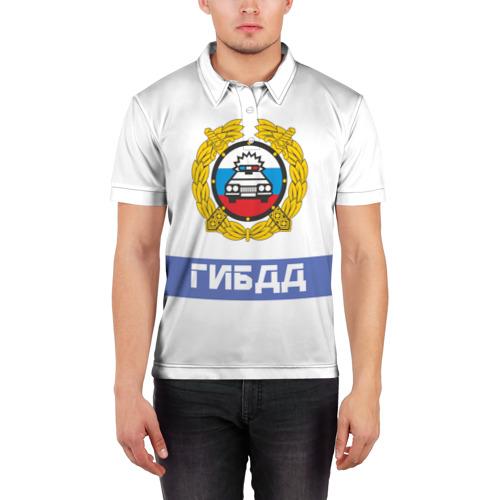 Мужская рубашка поло 3D  Фото 03, ГИБДД