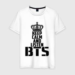 Keep calm and listen BTS
