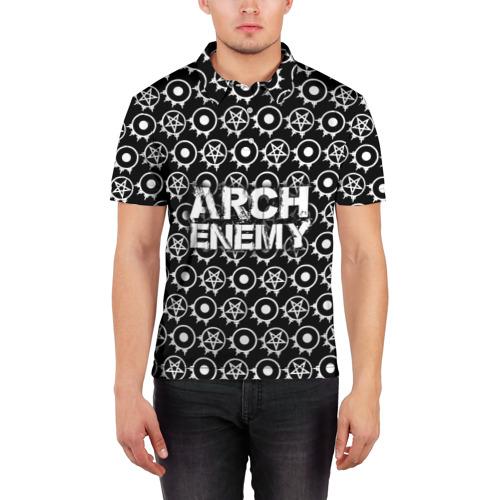 Мужская рубашка поло 3D  Фото 03, Arch Enemy