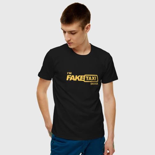 Мужская футболка хлопок FakeTaxi  Фото 01