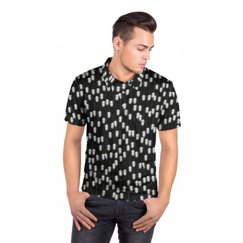 Мужская рубашка поло 3D  Фото 05, Безликие