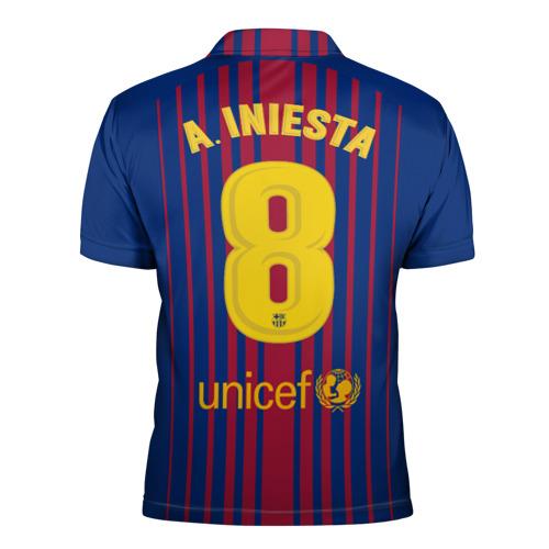 Мужская рубашка поло 3D  Фото 02, Iniesta 17-18