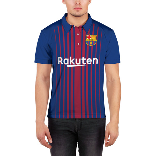 Мужская рубашка поло 3D  Фото 03, Iniesta 17-18