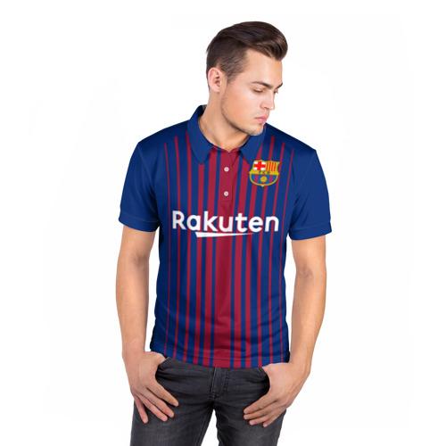 Мужская рубашка поло 3D  Фото 05, Iniesta 17-18