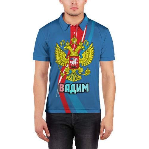 Мужская рубашка поло 3D  Фото 03, Герб Вадим