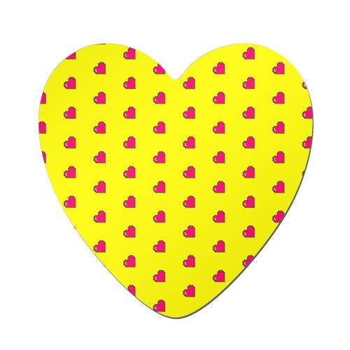 Love 8 bit yellow