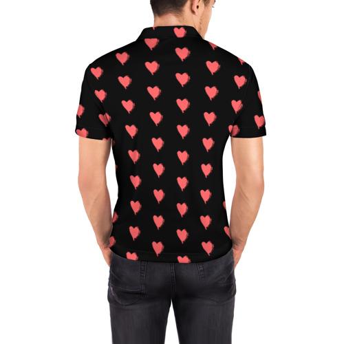 Мужская рубашка поло 3D  Фото 04, True Love