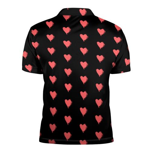 Мужская рубашка поло 3D  Фото 02, True Love