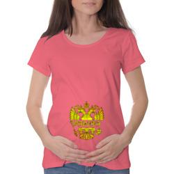 Марина в золотом гербе РФ