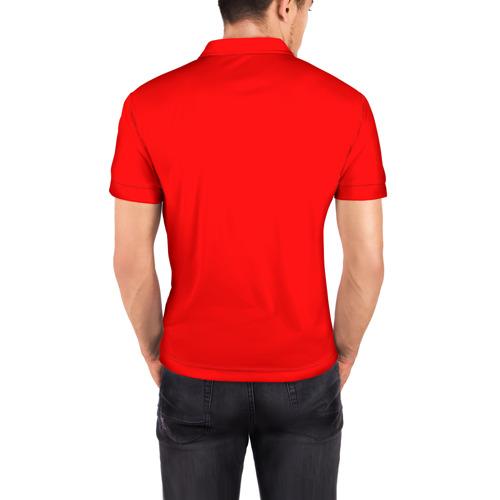 Мужская рубашка поло 3D  Фото 04, Ринат в золотом гербе РФ