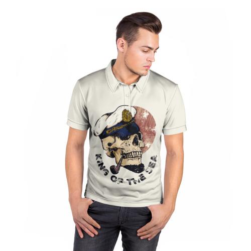 Мужская рубашка поло 3D  Фото 05, Король моря