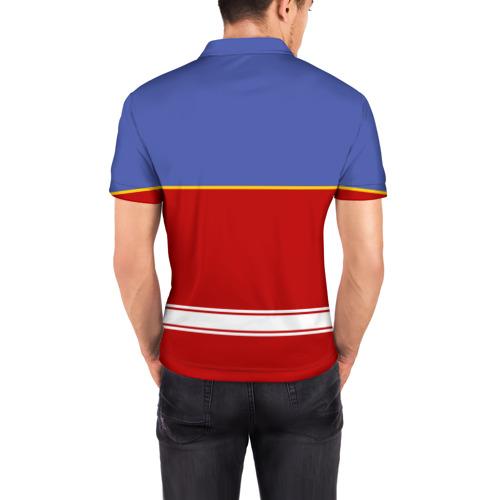 Мужская рубашка поло 3D  Фото 04, Хоккеист Лев