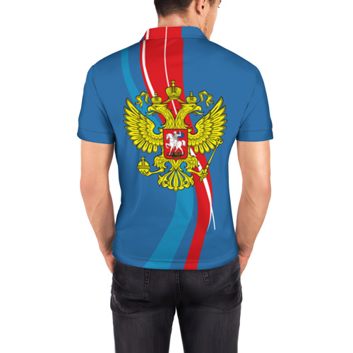 Мужская рубашка поло 3D  Фото 04, Герб Ярослав