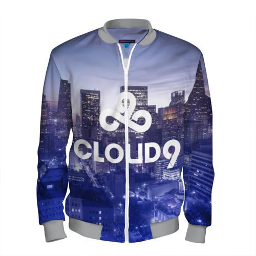 Мужской бомбер 3D Cloud 9