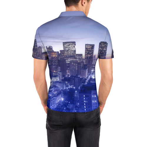 Мужская рубашка поло 3D  Фото 04, Cloud 9