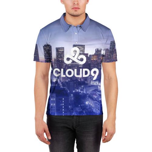 Мужская рубашка поло 3D  Фото 03, Cloud 9