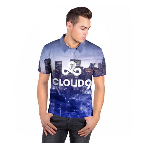 Мужская рубашка поло 3D  Фото 05, Cloud 9