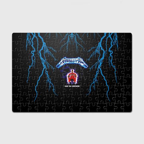 Пазл магнитный 126 элементов  Фото 01, Metallica, ride the lightning