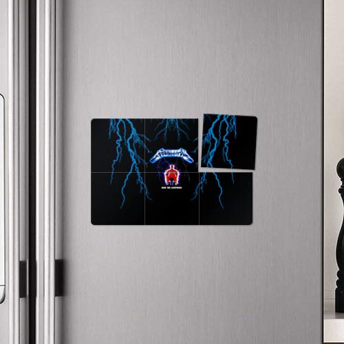 Магнитный плакат 3Х2 Metallica, ride the lightning Фото 01