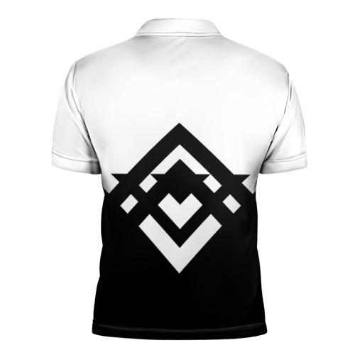 Мужская рубашка поло 3D  Фото 02, Баста - Урбан