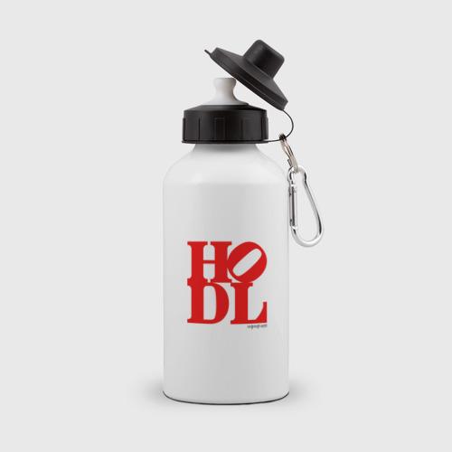 Бутылка спортивная HODL - HOLD CRYPTO