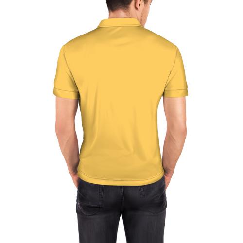 Мужская рубашка поло 3D  Фото 04, Медведь Хипстер Love