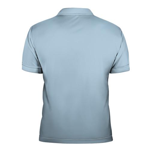 Мужская рубашка поло 3D  Фото 02, Хипстер Петух Love