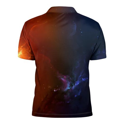 Мужская рубашка поло 3D  Фото 02, Морской кит