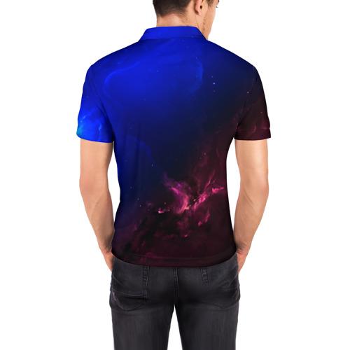 Мужская рубашка поло 3D  Фото 04, Кит space