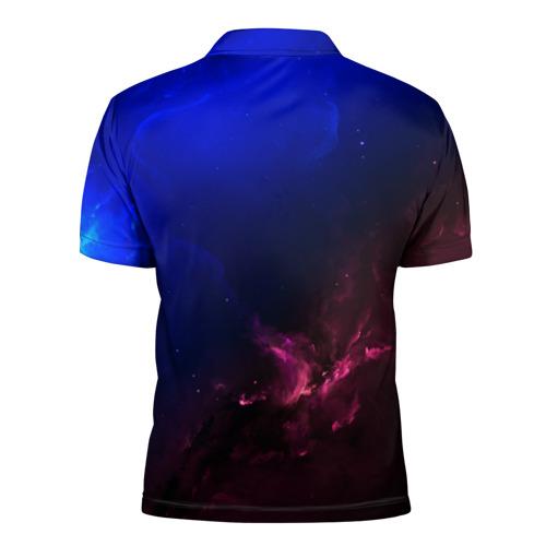 Мужская рубашка поло 3D  Фото 02, Кит space