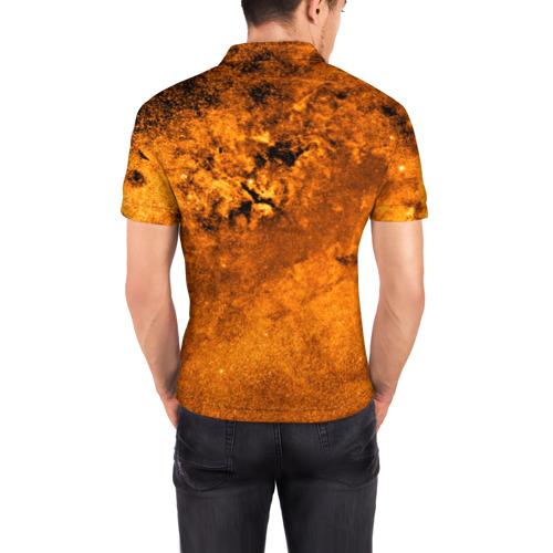 Мужская рубашка поло 3D  Фото 04, Gold Space