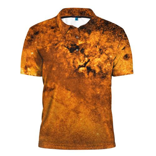 Мужская рубашка поло 3D  Фото 01, Gold Space