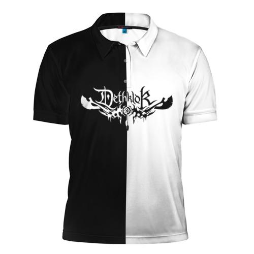 Мужская рубашка поло 3D  Фото 01, Dethklok