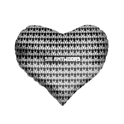Подушка 3D сердце  Фото 01, Die Antwoord