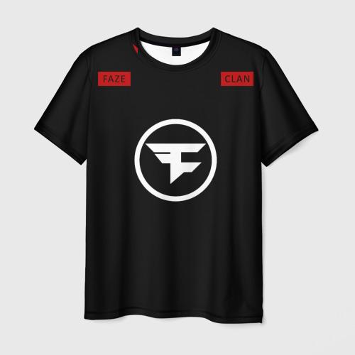 Мужская футболка 3D cs:go - Faze Clan (2018)
