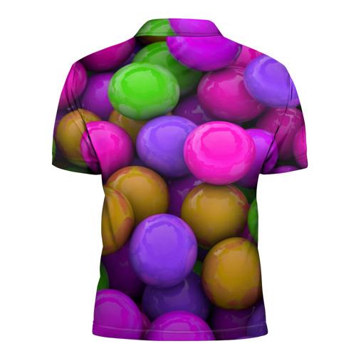 Мужская рубашка поло 3D  Фото 02, Loves me
