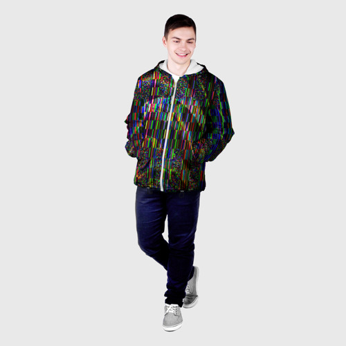 Мужская куртка 3D  Фото 03, Цветная иллюзия