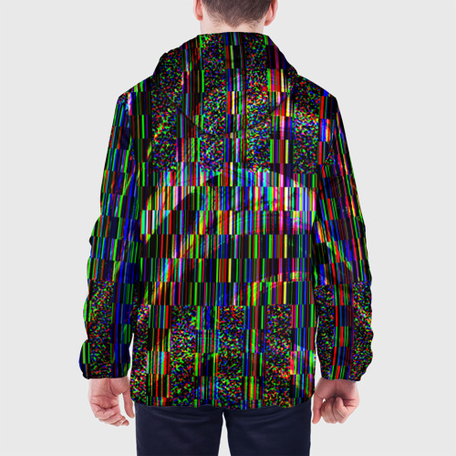 Мужская куртка 3D  Фото 05, Цветная иллюзия